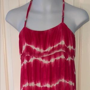 AEROPOSTALE Tie-dye Dress, Adjustible  Straps